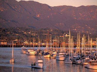 Harbor, Santa Barbara, California
