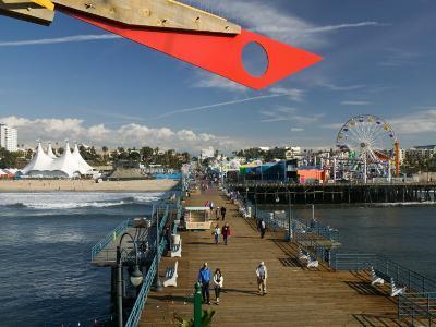 Santa Monica Pier, Santa Monica, Los Angeles, California