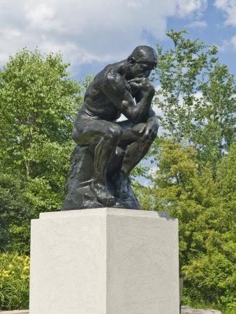 The Thinker, Frederik Meijer Gardens, Grand Rapids, Michigan