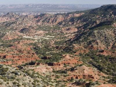 Palo Duro Canyon Landscape, Amarillo, Texas