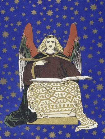 Angel Holding Book