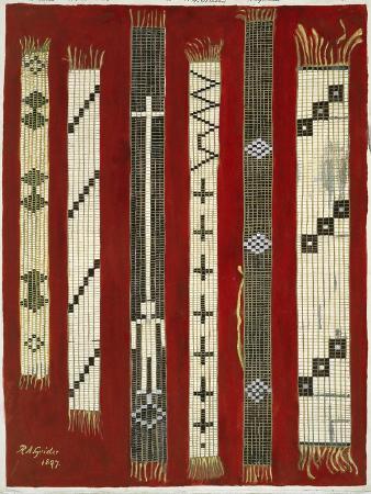 Iroquois Wampum Belts