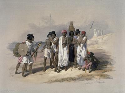 Group of Nubians at Wady Kardassy