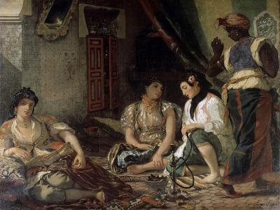 Femme D'Alger Dans Leur Appartement