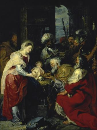 Adoration of the Kings, 17th century