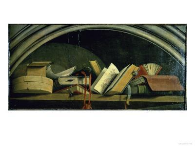 Still Life: Shelf with Books