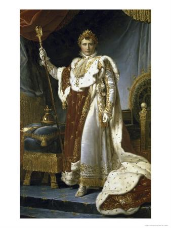 Napoleon En Costume de Sacre