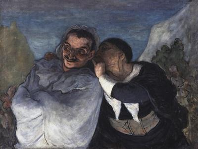 Crispin et Scapin, c.1860