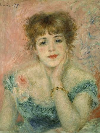Portrait of Actress Jeanne Samary
