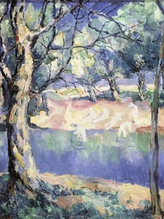 River in the Forest, c.1908