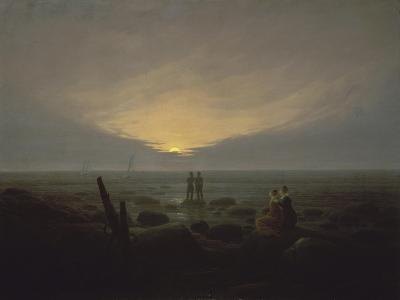 Moonrise over the Sea, c.1821