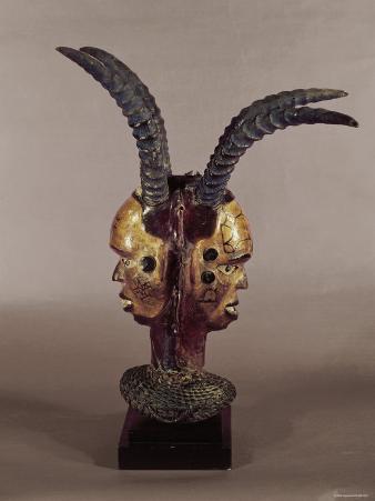 Ekpo Headdress, Ekoi Tribe