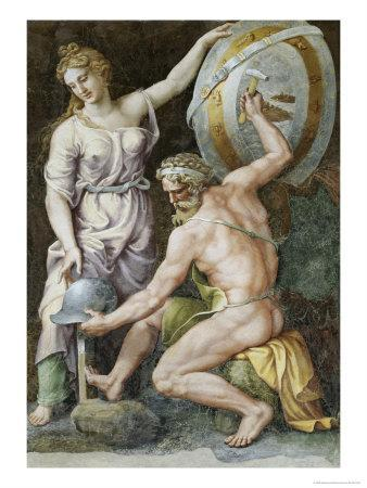 Vulcan Forging Armour For Achilles