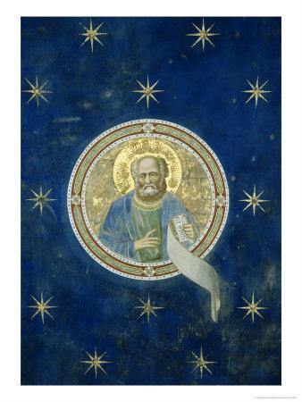 Detail of Ceiling Prophet Malachi