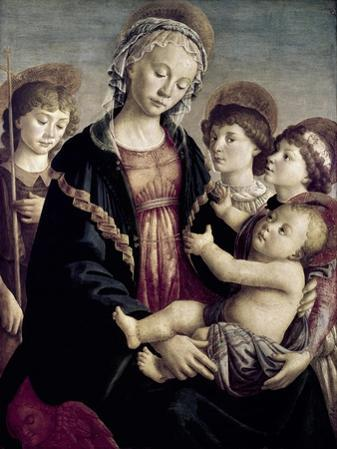 Madonna and Child with St. John Baptist and Two Angels, c.1468