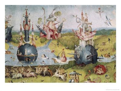 Detail of Garden of Earthly Delights, no.3, c.1505