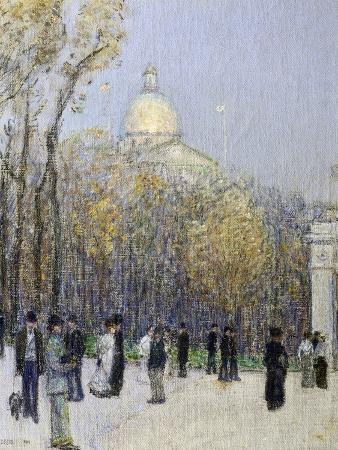 Boston Commons, c.1901