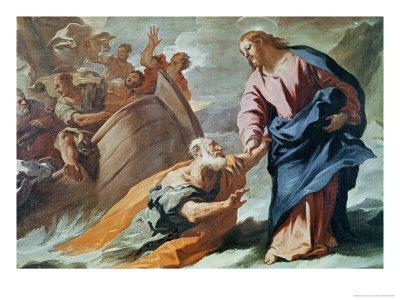 Jesus at the Sea