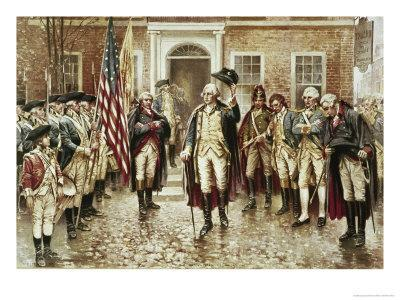 Washington's Farewell to His Officers