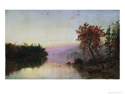 Greenwood Lake at Twilight
