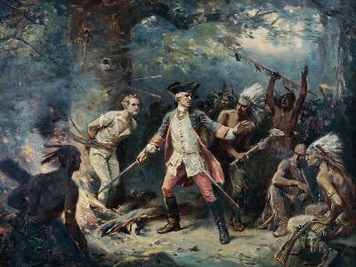 The Rescue of Major Israel Putnam