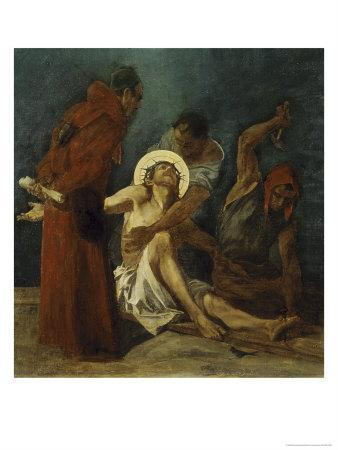 Jesus is Nailed to the Cross 11th Station of the Cross