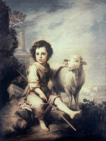 Christ Child as Shepherd