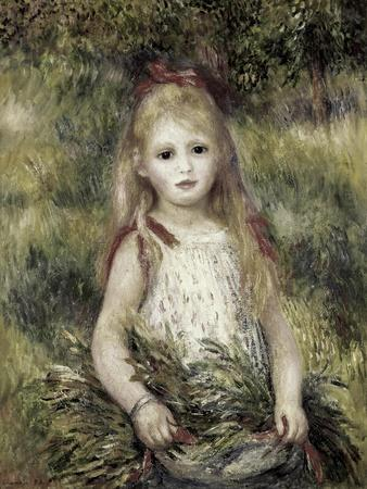 Girl with a Sheaf