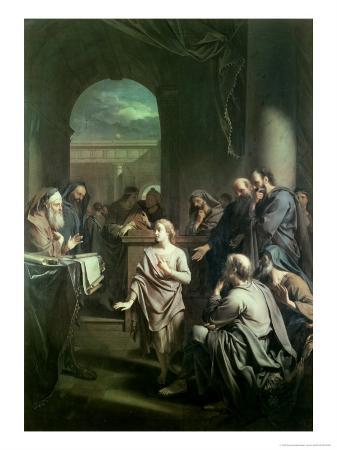 The Boy Jesus in Temple