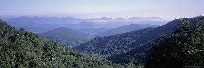 Mountain Vista from Blue Ridge Parkway, NC