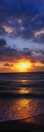 Sunrise and Surf, Miami Beach, FL
