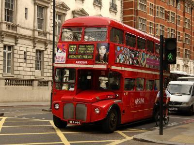 Double Decker Bus, London, England