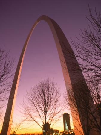 Gateway Arch and Skyline of St. Louis, Missouri