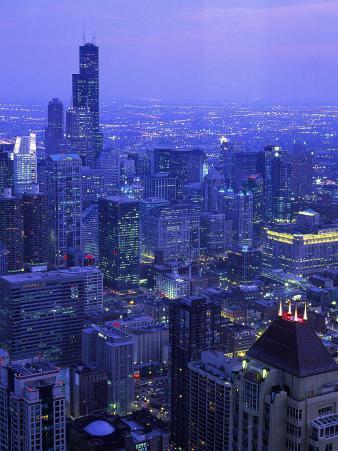 Skyline Dusk, Chicago, IL