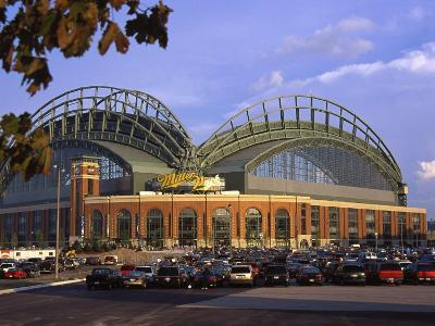 Red Sox Game, Miller Park in Milwaukee, WI