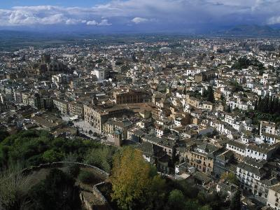 Granada from the Alhambra, Spain