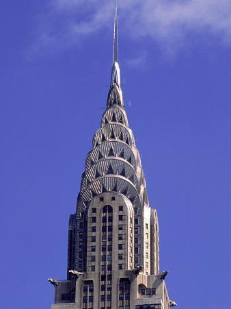 Chrysler Building, Upper Tiers, Ny