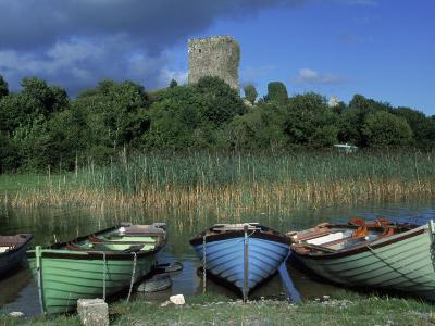 Boats, Lough Corrib, County Mayo, Ireland