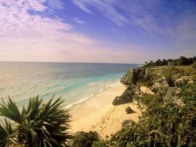Caribbean Sea, Tulum, Yucatan, Mexico