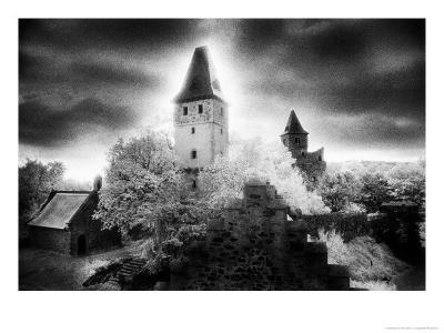 Castle Frankenstein, the Odenwald Valley, Germany