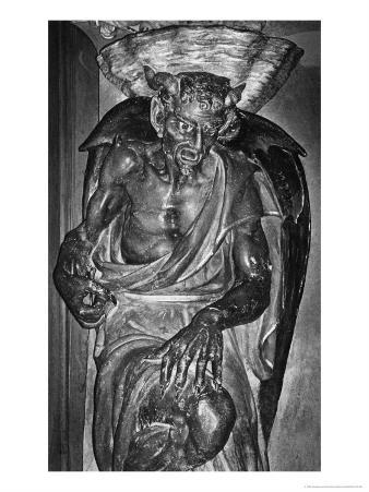 The Demon Asmodeus, the Church of St Mary Magdalen, Rennes-Le-Chateau, France