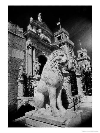 Lions Outside Tne Gates of the Arsenale