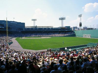Fenway Park, Red Sox Game, Boston, MA