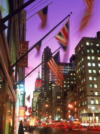 NYC, Fifth Avenue Flags