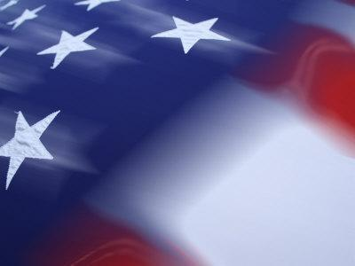 Abstract of US Flag
