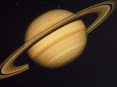 View of Saturn from Voyager 2
