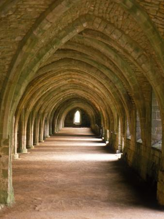 Cistercian Monastery, Fountains Abbey, Eng