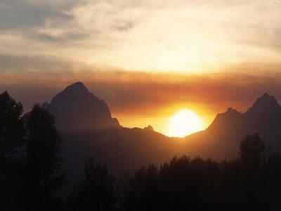 Cathedral Group, Teton Range, Teton National Park, WY