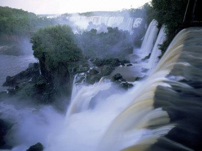 View of Iguazu Falls from Argentine Side