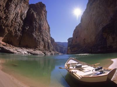 Empty Dory, Colerado River, Grand Canyon National Park, AZ